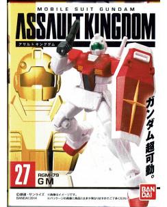 GASHAPON GUNDAM ASSAULT KINGDOM 27 Assault Kingdom RGM-79 Bandai Gd05