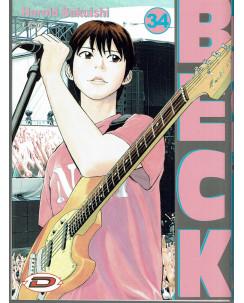 Beck n.34 di Harold Sakuishi ed. Dynamic NUOVO