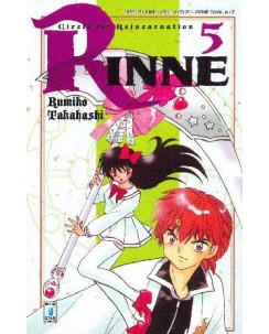 Rinne n. 5 ed.di Rumiko Takahashi Star Comics NUOVO