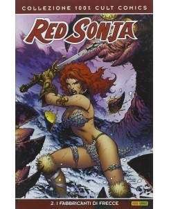 100% Cult Comics : Red Sonja  2 i fabbricanti di frecce ed. Panini SU33