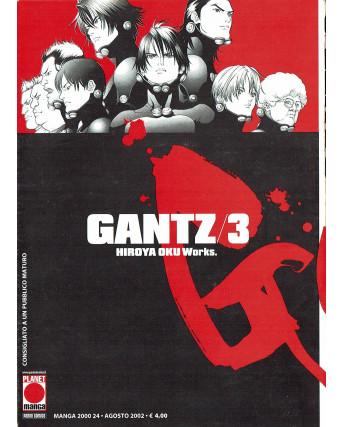 Gantz n.  3 di Hiroya Oku Prima Edizione ed.Panini