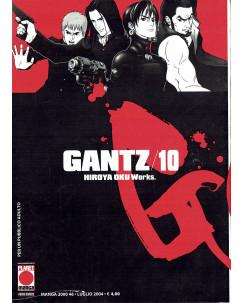 Gantz n. 10 di Hiroya Oku Prima Edizione ed.Panini