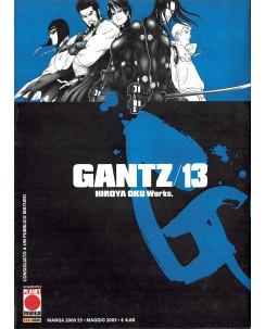 Gantz n. 13 di Hiroya Oku Prima Edizione ed.Panini