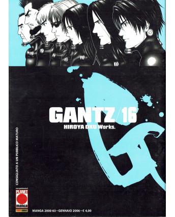 Gantz n. 16 di Hiroya Oku Prima Edizione ed.Panini