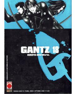 Gantz n. 18 di Hiroya Oku Prima Edizione ed.Panini
