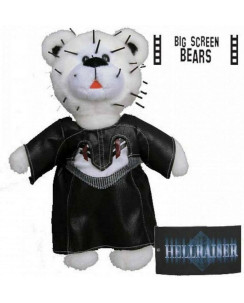 Big Screen Bears Series 1: Hellraiser Pinhead Bear PELUCHE NUOVO Gd22