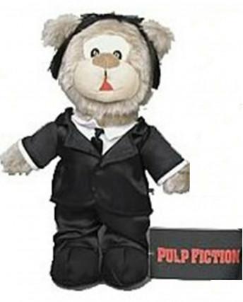 Big Screen Bears Series 1: Pulp Fiction VINCENT Bear PELUCHE NUOVO Gd22