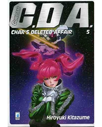 Gundam C.D.A. 5 di H. Kitazume ed. Star Comics