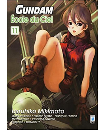 Gundam Ecole du Ciel n. 11 di Mikimoto UC0085 ed.Star Comics