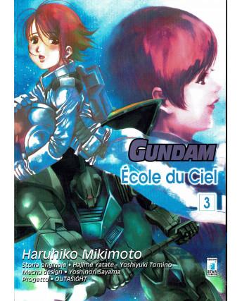 Gundam èCole du Ciel   3 di Haruhiko Mikimoto ed.Star Comics