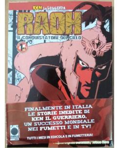 Ken - La leggenda di Raoh DELUXE n. 1 di Buronson, Hara & Osada ed.Panini NUOVO
