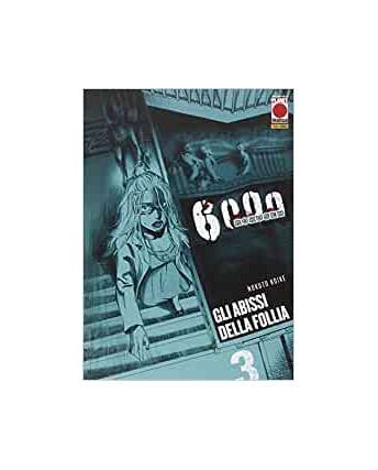 6000 Rokusen gli abissi della follia  3 di Nokuto Koike ed.Panini Comics