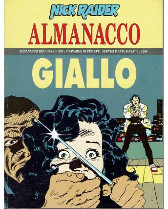Almanacco del giallo 1993 Nick Raider di Nizzi ed. Bonelli