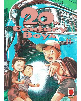 20th Century Boys n. 16 di Naoki Urasawa ristampa ed. Panini
