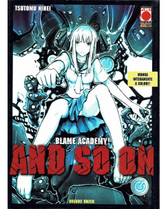 Blame Academy! An So On volume unico a COLORI di Tsutomu Nihei -20% ed. Panini