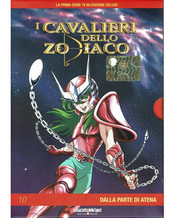 I Cavalieri dello Zodiaco 10 dalla parte di Atena DVD Gazzetta Yamato