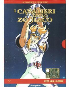 I Cavalieri dello Zodiaco 14 fede negli uomini DVD Gazzetta Yamato