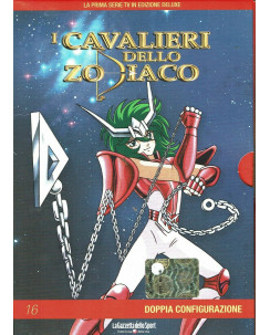 I Cavalieri dello Zodiaco 16 doppia configurazione DVD Gazzetta Yamato