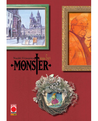 Monster Deluxe  5 di 9 ristampa di Naoki Urasawa ed. Panini