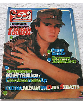 Ciao 2001 N. 23 del 1985 Duran Duran Dire Straits Battiato FF01