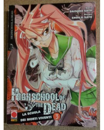 High School of the Dead n. 3 di Daisuke Sato, Shouji Sato - 1a ed. Planet Manga