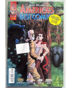 America's Best Comics n. 17 di Alan Moore *Tom Strong * ed. Magic Press
