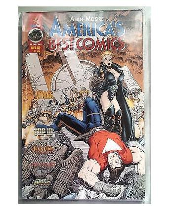 America's Best Comics n. 4 di Alan Moore *Tom Strong * ed. Magic Press