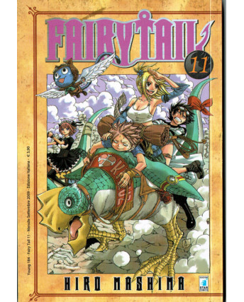 Fairy Tail 11 di Hiro MAshima ed.Star Comics