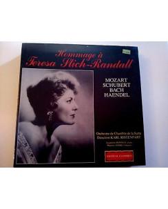 """""""Hommage a Teresa Stich-Randall"""" Dir. K. Ristenpart -FC- 33 Giri (x4 LP) -FF03-"""