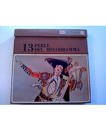 13 Perle Del Melodramma (Puccini, Mozart,Verdi etc..) -Rca- 33 Giri (x10 LP)FF03