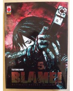Blame n. 5 ultimate deluxe collection di T.Nihei*ed.Panini
