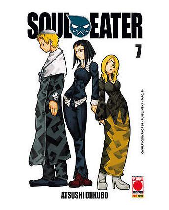 Soul Eater n. 7 di Atsushi Ohkubo - Prima Ristampa Planet Manga