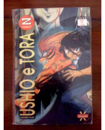 Ushio E Tora di Kazuhiro Fujita N.  9 Ed. Granata Press