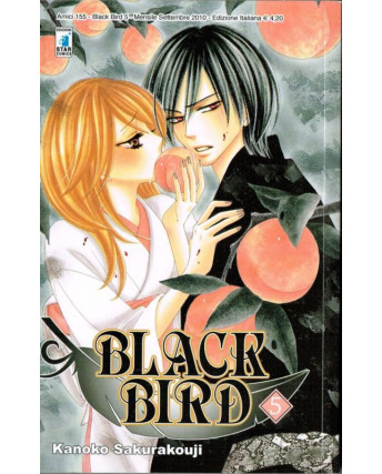 Black Bird   5 di Kanoko Sakurakouji ed.Star Comics*NUOVO sconto 10%
