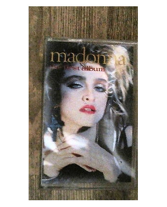 Madonna: The First Album - n.8 tracce Musicassetta
