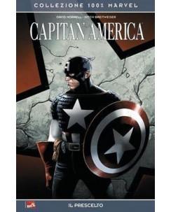 100% Marvel Capitan America: il prescelto ed.Panini NUOVO