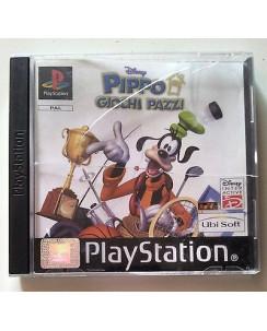 Videogioco per PlayStation Pal: Pippo Giochi Pazzi