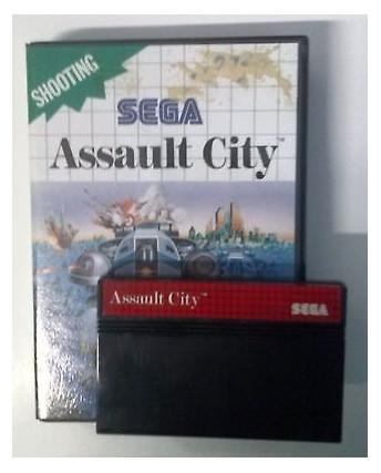 Videogioco per Sega Master System: Assault City - Sega