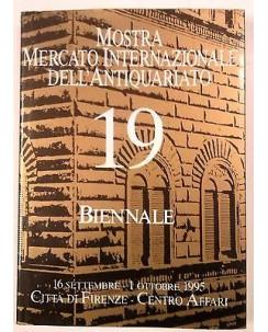 19 Internazionale Antiquariato Biennale Mostra Mercato 1995 C. R. Firenze FF02