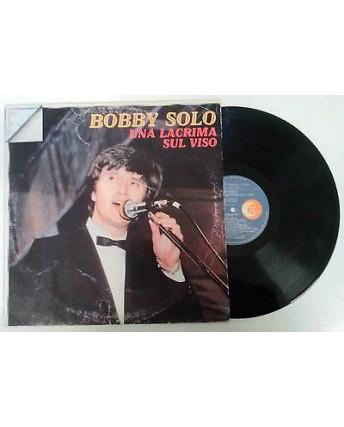 33 Giri  Bobby Solo: Una lacrima sul viso - 8171 - Ricordi - 131