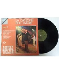 33 Giri  Achille Togliani: La canzone dell'amore Vol 4 - 8447 - Orizzonte - 117