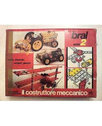 Bral Serie 2 - Il Costruttore Meccanico - Gioco in Scatola Vintage Anni '80
