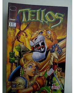 Comics USA :Tellos 1/2 serie completa Edizione Panini Cult Comics
