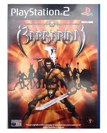 VIDEOGIOCO PER PlayStation 2: BARBARIAN, AVALON INTERACTIVE - 12+