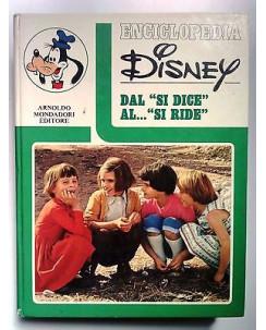 "Enciclopedia Disney: Dal ""Si Dice"" al ""Si Ride"" - ed. Mondadori FF04"