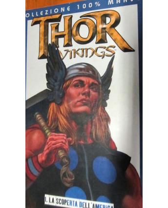 100% Marvel Thor Vikings: la scoperta dell'America di Garth Ennis ed.Panini