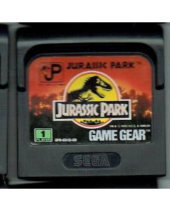 Videogioco GAME GEAR Sega : JURASSIC PARK no BOX no libretto