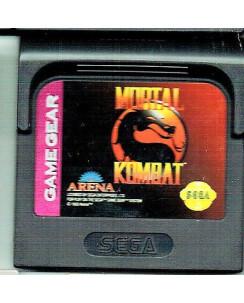 Videogioco GAME GEAR Sega :MORTAL KOMBAT no BOX no libretto