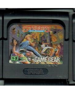 Videogioco GAME GEAR Sega :STREETS OF RAGE no BOX no libretto