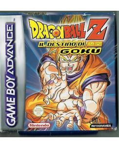 Videogioco NINTENDO GAME BOY ADVANCE: DRAGONBALL il destino GOKU BOX libretto